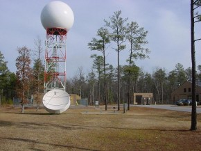 WSR-88D located at the National Weather Service Forecast Office in Wakefield, VA
