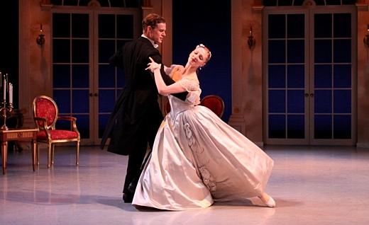 Phillip Skaggs and Lauren Fagone in Liebeslieder Walzer in 2011.