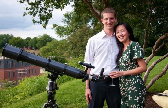 Transit couple and telescope