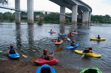 Kayakers support the Best Town Ever (29)