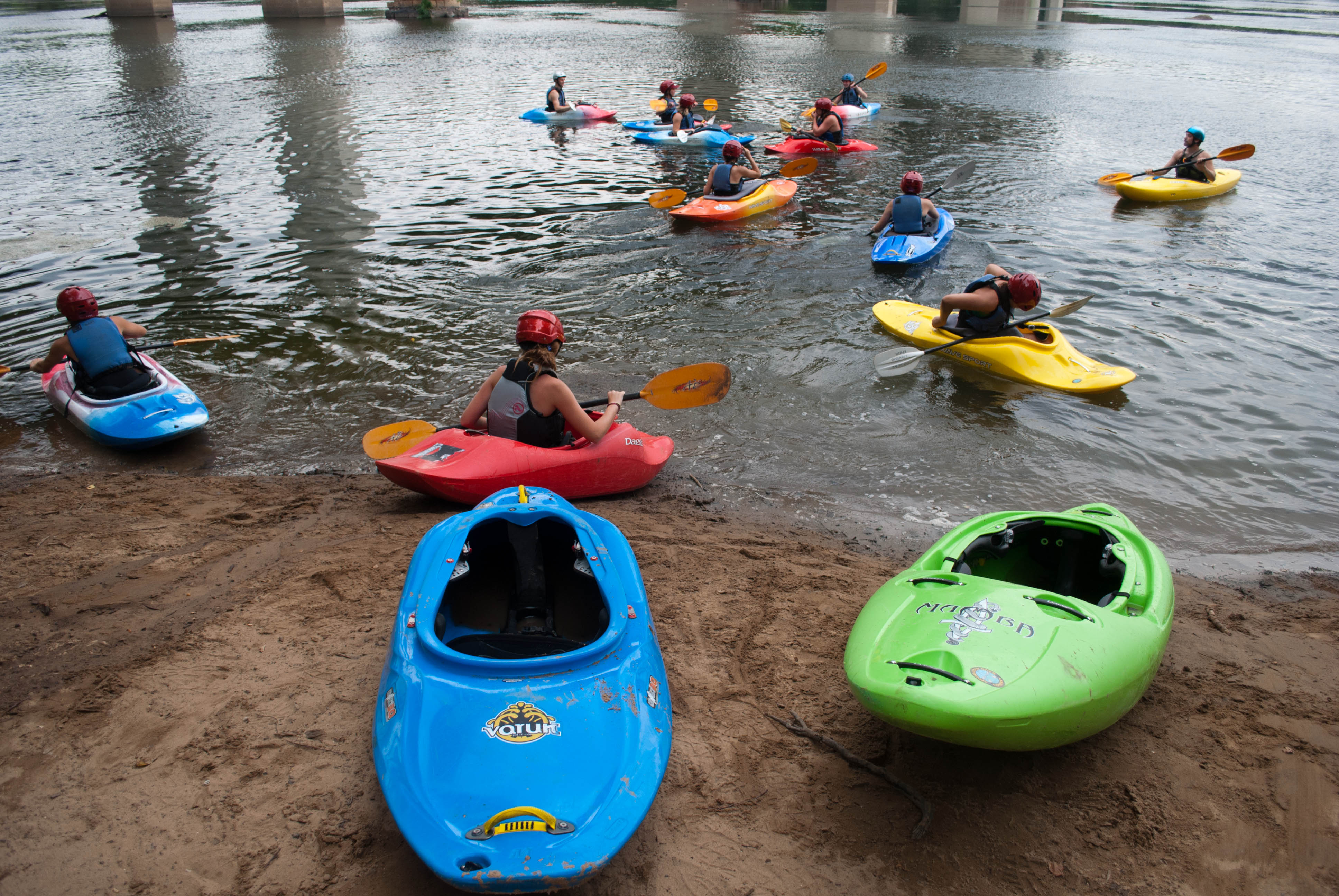 Kayakers support the Best Town Ever (28)