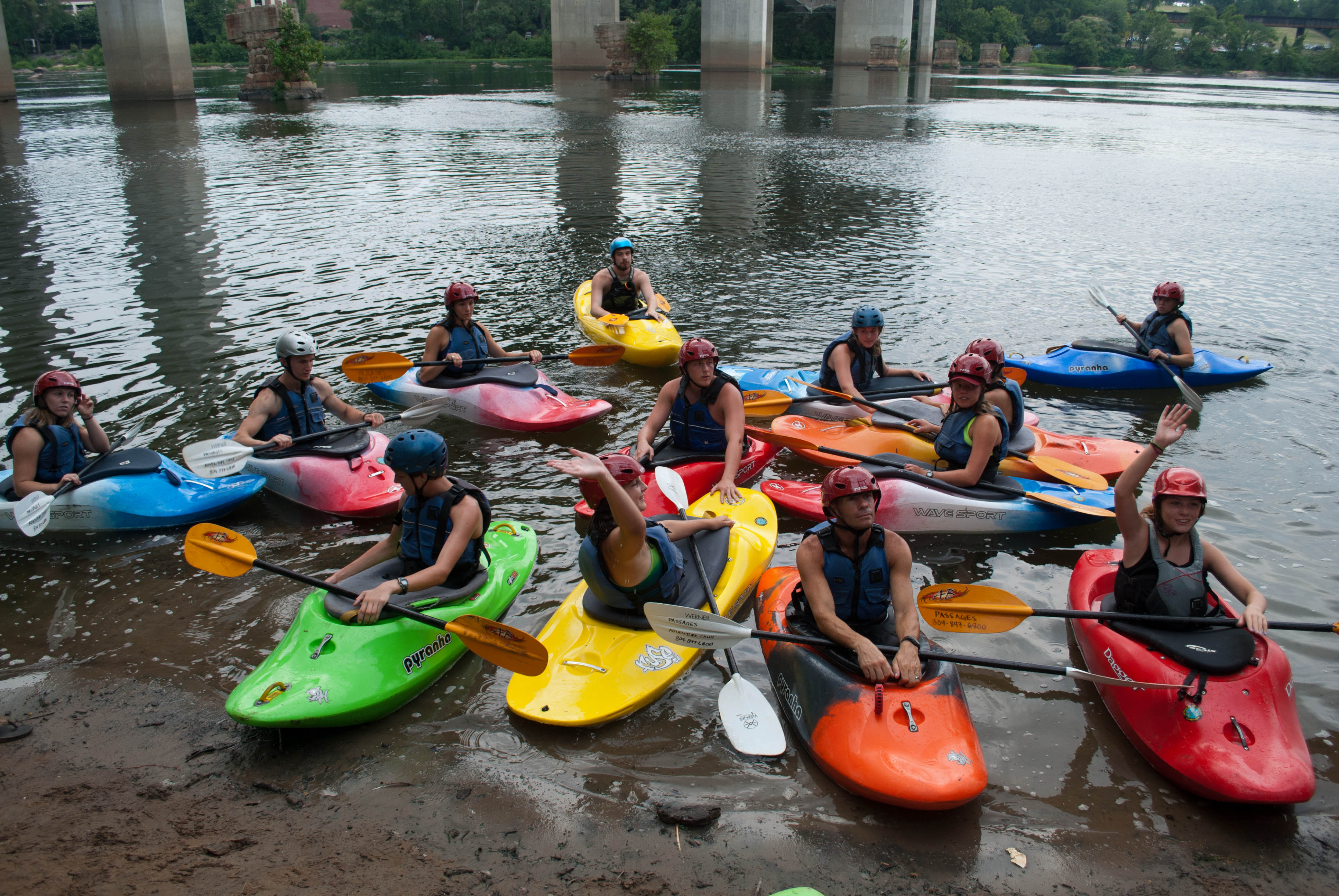Kayakers support the Best Town Ever (27)