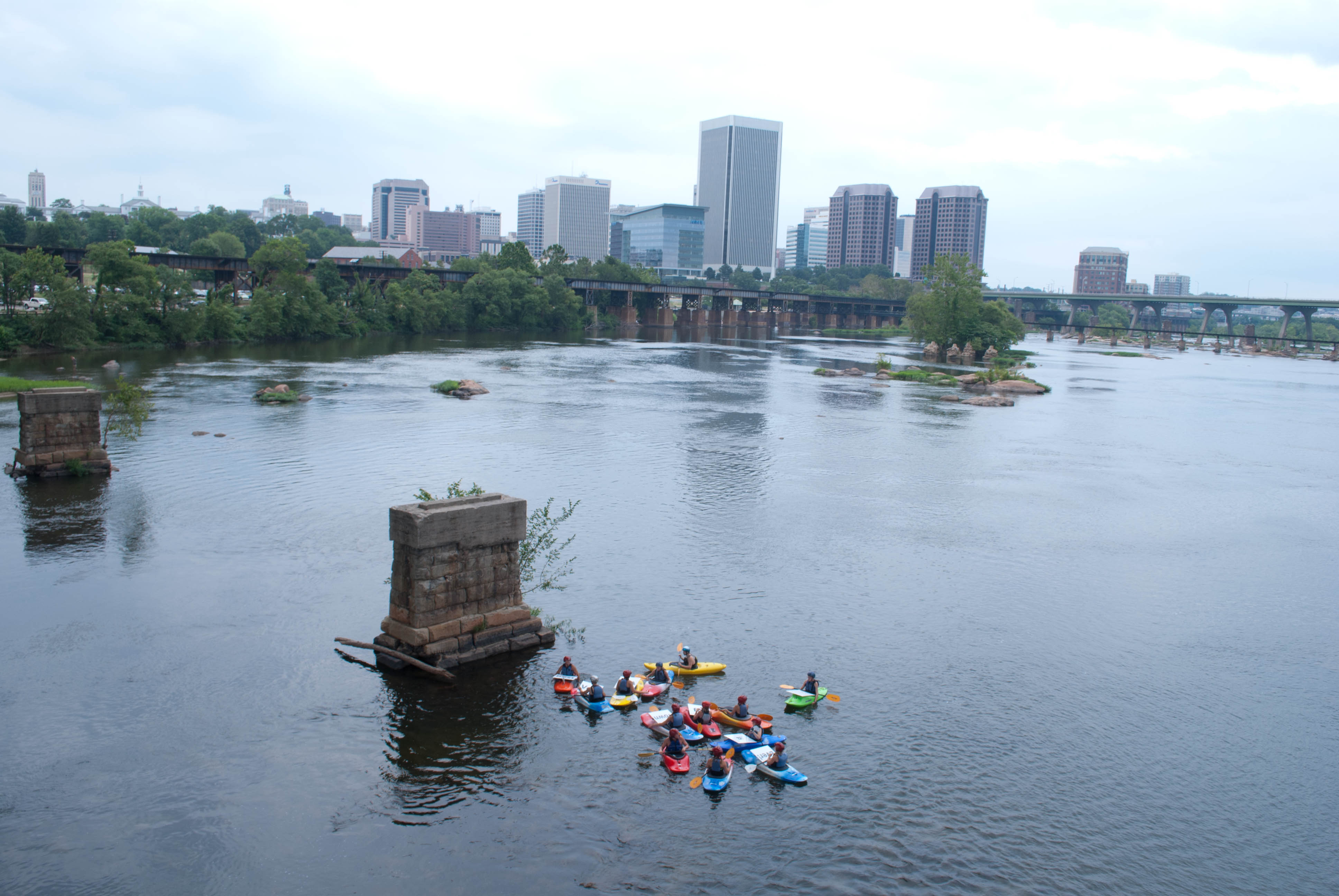 Kayakers support the Best Town Ever (16)