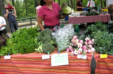 South of the James farmers market vendor