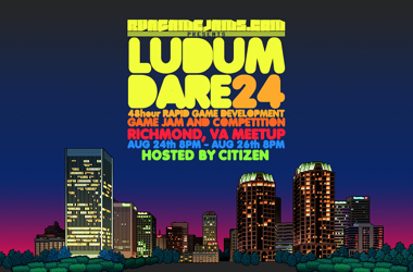 RVA Ludum Dare game jam meetup logo