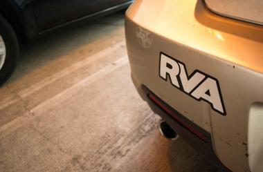 RVA bumper sticker