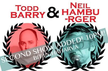Todd Barry Neil Hamburger show