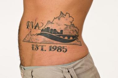 RVA tattoo