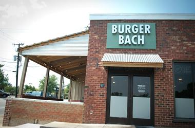 Burger Bach exterior