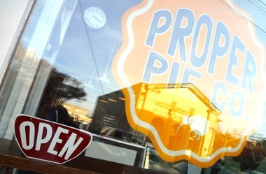 Proper Pie Co. sign