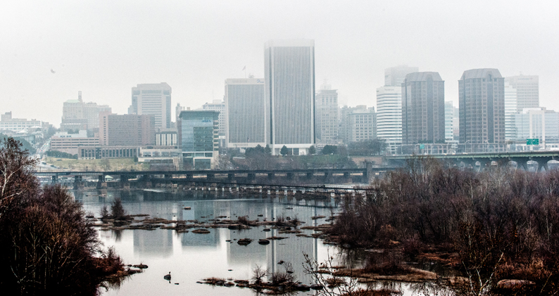 Foggy-Day-in-Downtown-RVA