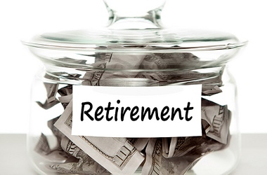 Retirement savings jar