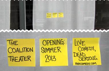 Coalition Theater - Richmond Comedy Coalition