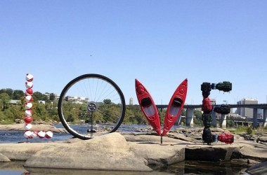 LOVEwork on the James River