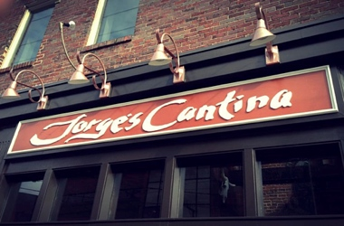 Jorge's Cantina sign