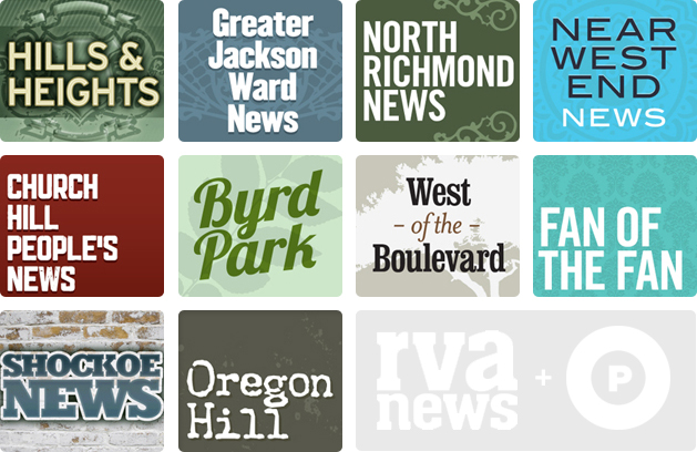 RVANews Network community sites logos