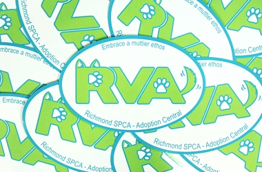 RVA sticker (SPCA)