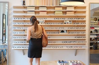 Warby Parker showroom
