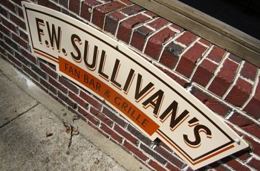 F.W. Sullivan&#039;s sign