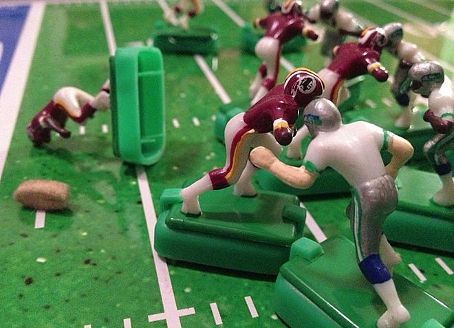 The Skins' season ended with RG3's knee.