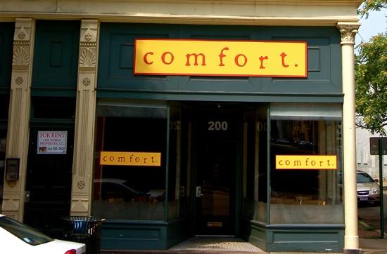 Comfort storefront