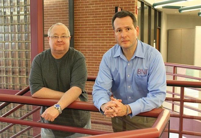 Gangplank RVA founders Mike Vizdos and Mark Deutsch