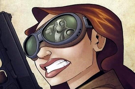 The Sparrow of Atomic Robo