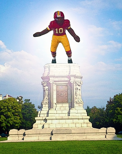 TrainingCamp-RG3Monument
