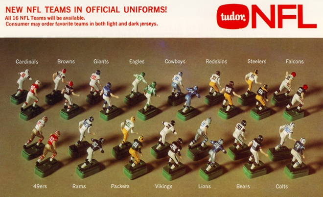Tudor Games ad electric football