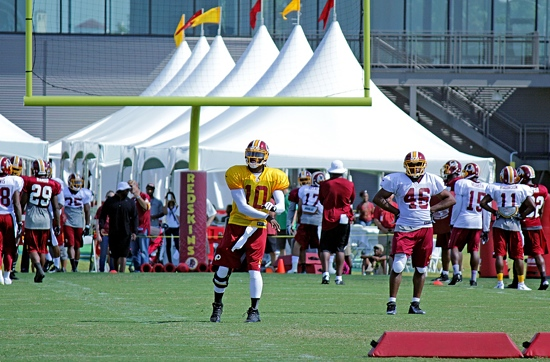 Redskins training camp RGIII