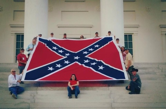 I-95 Confederate flag
