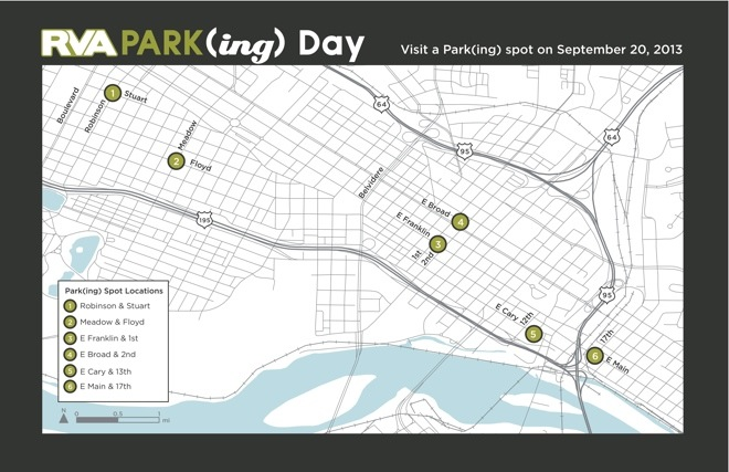 RVA (PARK)ing Day map 2