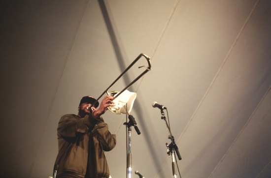 Folk fest musician
