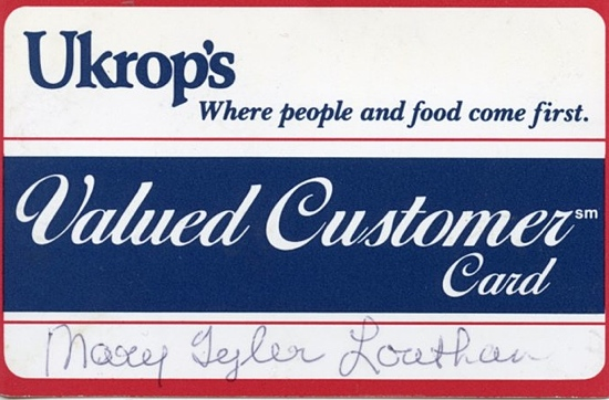 Ukrop's card