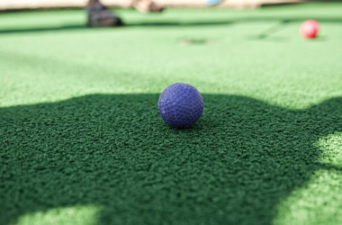 mini-golf ball