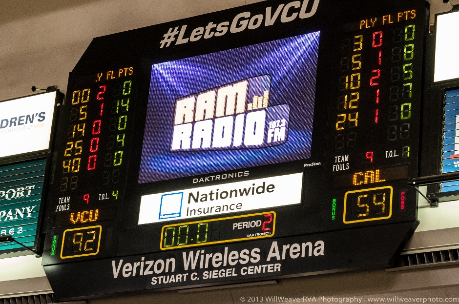 VCU vs. California (PA)-22