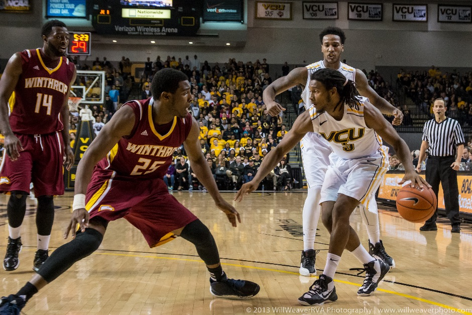 VCU vs. Winthrop-22