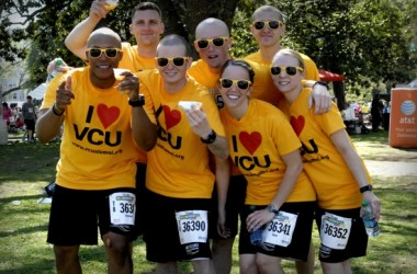VCU students at 10k