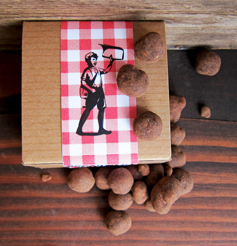 chocolate covered candied hazelnuts