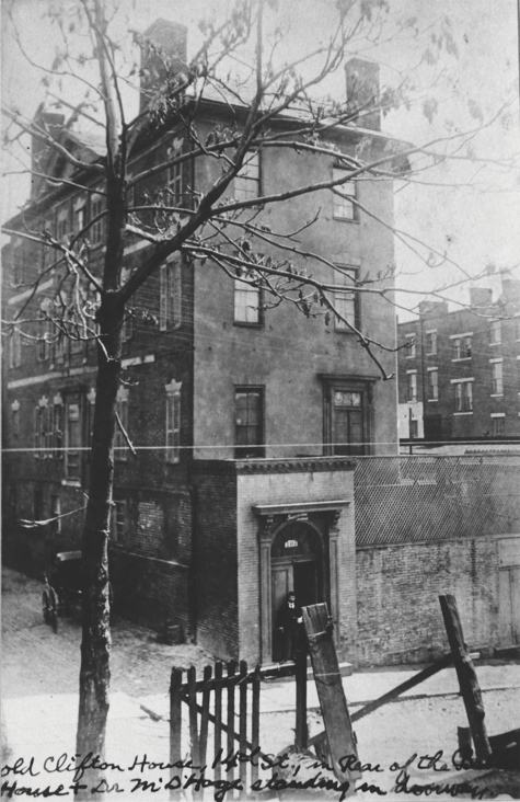 1889 Clifton House location