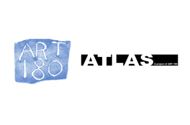 Art 180 and Atlas teen center logos