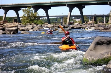 River kayakers