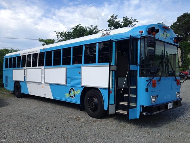 The Hop RVA bus 2
