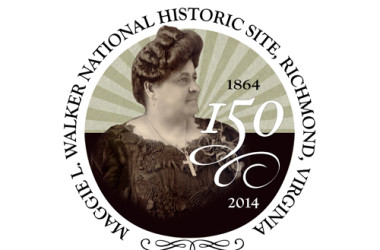 Maggie Walker's 150th Birthday Celebration logo