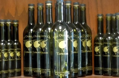 Olive Oil Taproom bottles