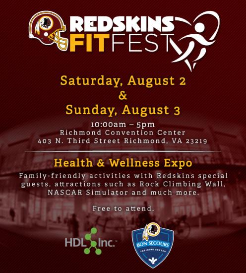2014 Redskins Fit Fest