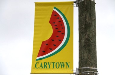 Watermelon Carytown sign
