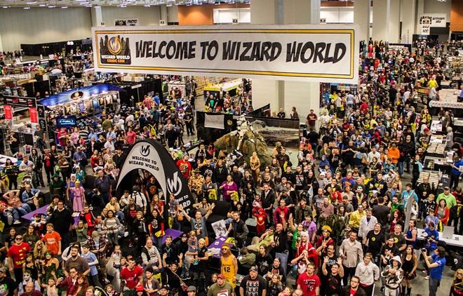 Wizard World crowd