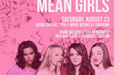 Mean Girls at the Lawn Chair Movie Series