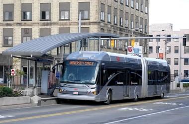 HealthLine rapid bus Cleveland